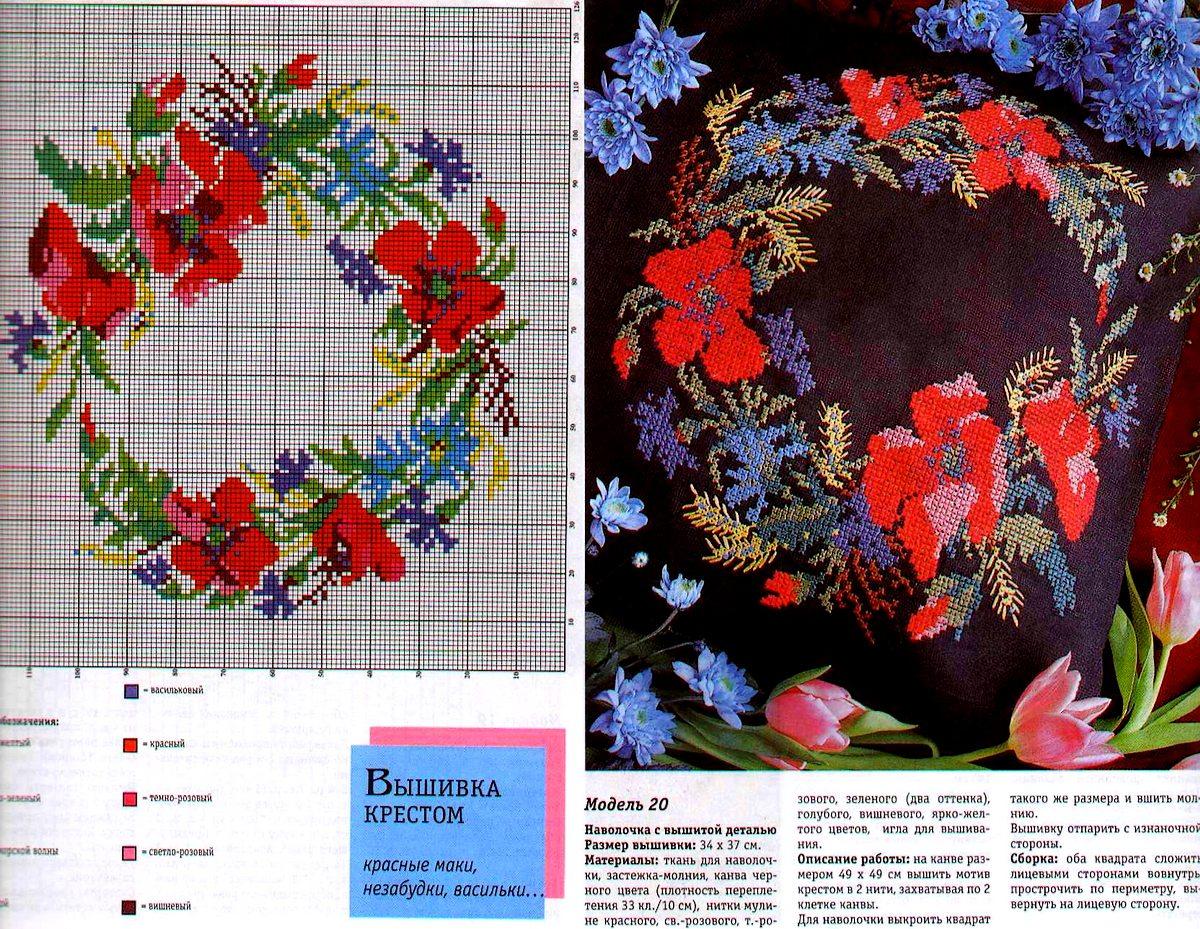 Gallery.ru   Фото  53 - From vyshyvanka.ucoz.ru - lauramumu схеми вишивки  хрестиком маки. Безкоштовні схеми для ... 53de47aa7d52a
