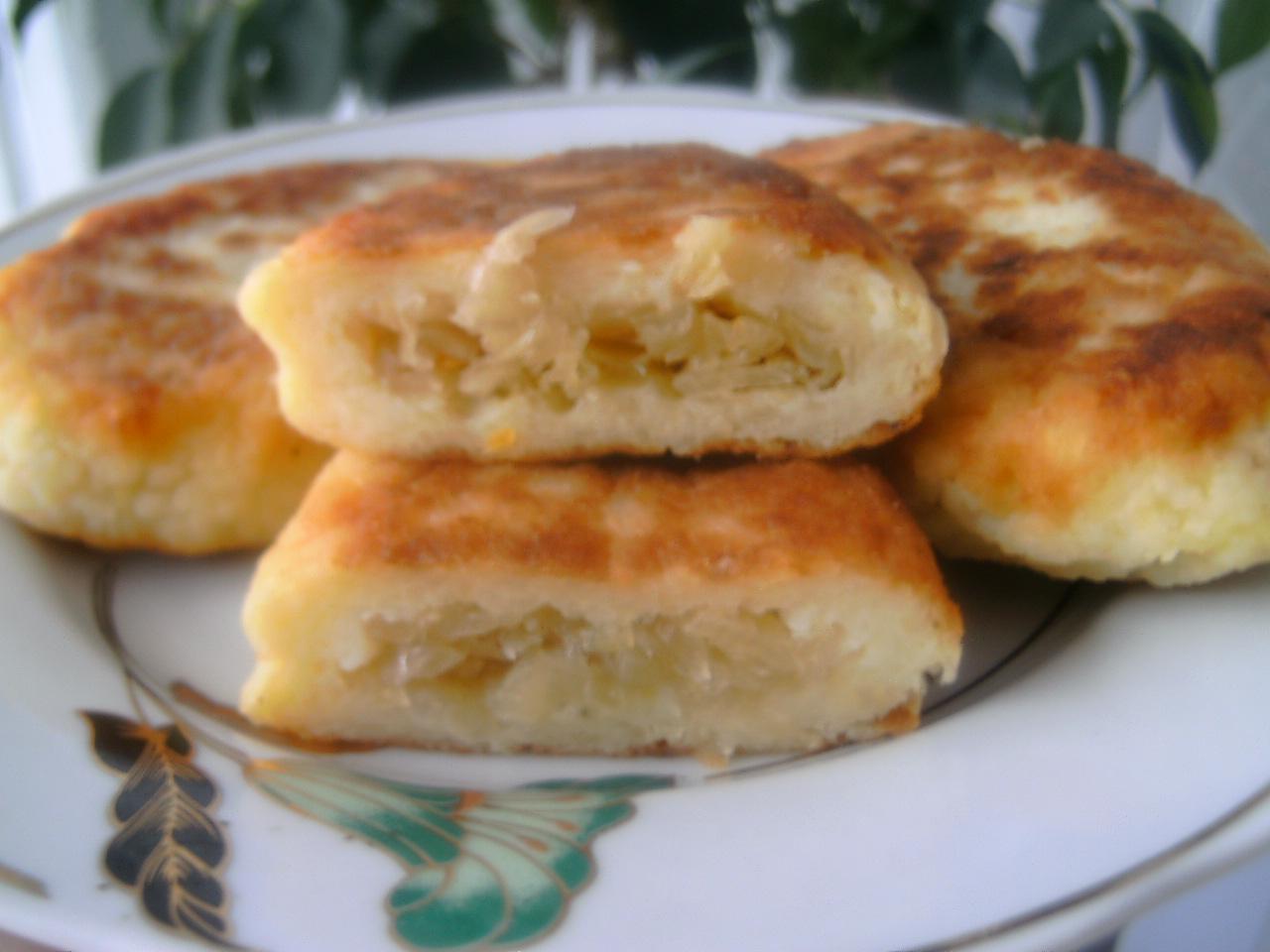 рецепт зразы картофельные с капустой