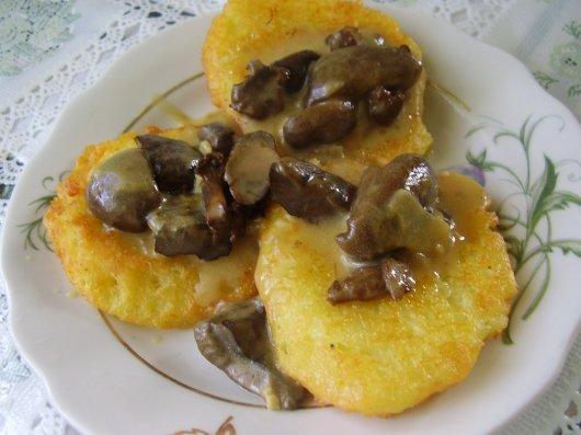 деруны с грибами рецепт фото