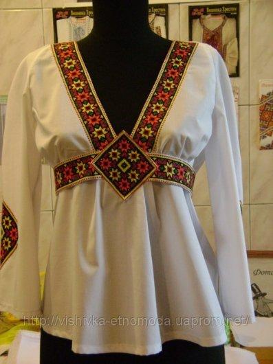 вишивка дитячих сорочок схеми