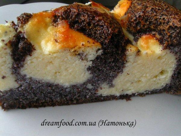 Маково-сирне тісто